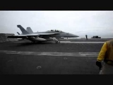 F-18 Taking Off From the Aircraft Carrier Nimitz
