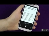 Samsung Galaxy S4 S Voice Demo Better than Siri or Google Now
