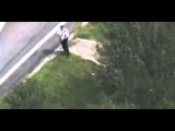 High Speed Miami Police Chase, Crash, and Apprehension Caught on Camera