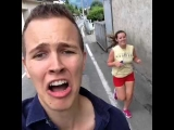 I like when strangers find me weird – Funny Jerome Jarre Vine Video