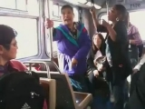 46. BUS DRIVER UPPERCUTS RATCHET GIRL FULL VIDEO EPIC!!!! Review @JayFluent