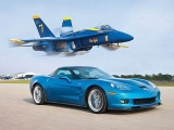 ZR1 Vette vs Jet! – Chevrolet Corvette ZR1 Races A U.S. Navy Fighter Jet