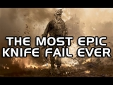 The Most Epic knife fail ever (Call Of Duty: Modern Warfare 2 Machinima)