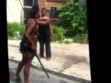 CRAZY HOOD FIGHT WORLD STAR HIPHOP!