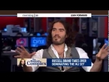 Russell Brand on MSNBC Mocking Media