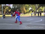 Spider-Man Playing Basketball – Amazing Athletes of YouTube