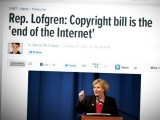 The Fight Against the SOPA Bill