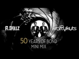 50 Years of James Bond Mini Mix Compilation – A.Skillz & Krafty Kuts