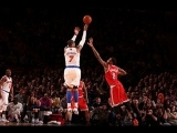 Carmelo's AMAZING 3-game shooting clinic ties Knicks record!
