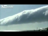 WEIRD Rotating Cloud Vortex! Strange PHENOMENON 2011.  HAARP or Morning Glory?