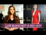 Cate Blanchett Is a Femme Fatale in Red Sequins | Celebrity Style | Fashion Flash