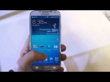 Samsung Galaxy S4 user interface and gestures