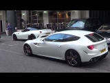 Luxury Cars   London White Ferrari FF in London!