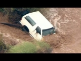 Dramatic flooding rescues caught on camera