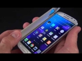 Samsung Galaxy S4 S View Flip Cover  Unboxing   Review