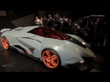 New Lamborghini Egoista Unveiled To The Lamborghini 50th Anniversary
