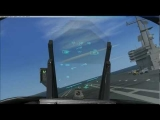 F-18 Carrier Landing (Flight sim)