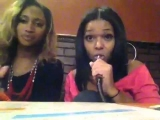 Dominique Jolie & Sultry Simone take on hookah #2