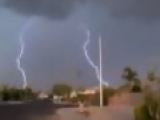 Thunderstorm Amazing Lightening Strikes Caught on Camera