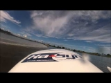 Powerboat Racing Flip and Crash – GoPro