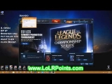 League of Legends Riot Points Hack 2013 [Latest Updateds]