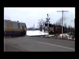 FULL] Near Fatal Train Crash Caught On Camera