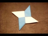 How to Make an Origami Ninja Star (Shuriken) – Double-Sided