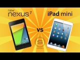 New Nexus 7 (2) vs iPad Mini