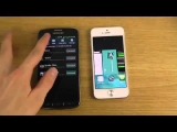 iPhone 5 iOS 7 Beta 2 vs. Samsung Galaxy S4 Active – Review.mp4