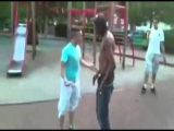 Bully Knocked Out With One Punch
