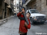 Shocking video: Ahmed, 8-year-old FSA soldier from Aleppo
