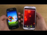 Samsung Galaxy S4 vs. Samsung Galaxy S4 Mini – Which Is Faster?