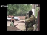 RUSSIA : Russian spetsnaz assault jihadists house