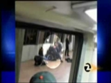 Contraversial Oscar Grant killing by BART police officer caught on camera