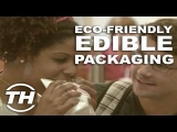 Eco-Friendly Edible Packaging – Courtney Scharf Explores Environmentally Friendly Food Carriers
