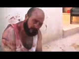 18+ graphic -FSA Free Syrian Army   war crimes-  tortured and sentenced to death