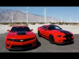 Burnout Fest! 2013 Shelby GT500 and 2012 Camaro ZL1 Road Trip – HOT ROD Unlimited Episode 15