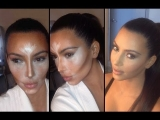 CONTOUR AND HIGHLIGHT LIKE KIM KARDASHIAN – STEP BY STEP