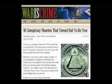 16 Conspiracy Theories That Turned Out To Be True – Michael Snyder – WarisCrime