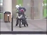 Bank Robbery – Epic Getaway Vehicle Fail Caught On Camera  =)