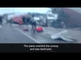 Russia Plane Crash caught on Camera