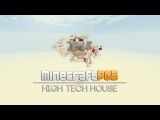 High Tech House – All in one Room – HIDDEN – Minecraft