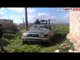 Syria Rebels Fighting with Assad army on Army Airport ( Part-1)