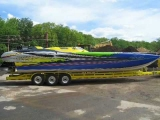 Super Cat MTI 39 High Performance Racing Boat 132mph