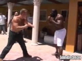 Street Fight Kimbo Slice Fights Adryan K.O