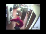 McDonald's robbery caught on camera