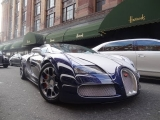 1 weekday April 2013 London supercars!(L'or blanc veyron,F12′s,Aventador