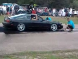 240sx burnout epic fail!