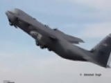 Awesome Short Field Take off by C-130J
