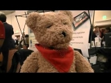Fujitsu Motion Bear Artificial Intelligence Concept Robotic Teddy Bear